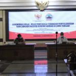 Lapas Semarang Ikuti Diseminasi Nilai Pancasila Terhadap Rancangan Produk Hukum Jawa Tengah