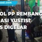 Meski Kasus Covid 19 Turun Satpol Pp Rembang Pastikan Operasi Yustisi Terus Digelar - Mitrapost.com