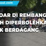 Pemkab Rembang Perbolehkan Pkl Jualan Di Trotoar Ini Alasannya - Mitrapost.com