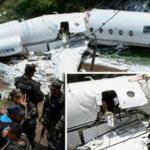 Pesawat Jatuh Terbelah Dua Di Rusia, Belasan Penerjun Meninggal