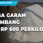 Stok Menipis Harga Garam Di Rembang Naik Rp600 Per Kilogram - Mitrapost.com