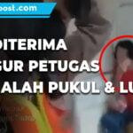 Tak Terima Ditegur Karena Tidak Pakai Masker Ibu Ludahi Dan Memukul Petugas - Mitrapost.com