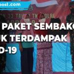 Tni Polri Alumni Akabri 89 Salurkan Bantuan Paket Sembako Kepada Masyarakat Terdampak Covid 19 - Mitrapost.com