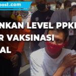 Turunkan Level Ppkm 1500 Warga Divaksin Secara Massal - Mitrapost.com