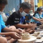 Kampung Wisata Keramik Dinoyo Jadi Sarana Edukasi Masyarakat