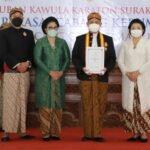 Bupati Kebumen Diberi Gelar Kehormatan Dari Keraton Surakarta Hadiningrat