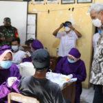 Capaian Vaksinasi Di Grobogan Rendah, Ganjar Dorong Percepatan