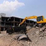 Progres Pembongkaran Pasar Banjarsari Pekalongan Capai 40 Persen