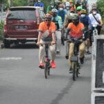 Wali Kota Se-Indonesia Mengikuti Gowes Di Kota Yogyakarta
