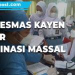 Vaksinasi Massal 600 Dosis Vaksin Disuntikkan - Mitrapost.com